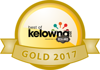 Best of Kelowna 2017 Gold Award